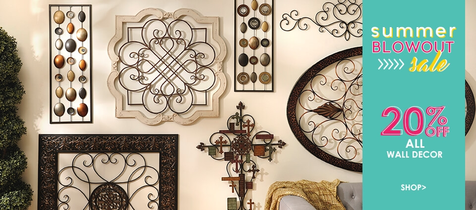 20% OFF All Wall Decor