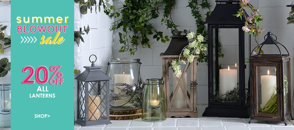 20% OFF All Lanterns