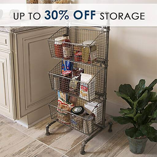Up to 30% Off Storage