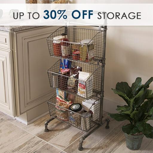 Up to 30% Off Storage