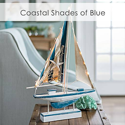 Shop The Coastal Collection in Shades of Blue