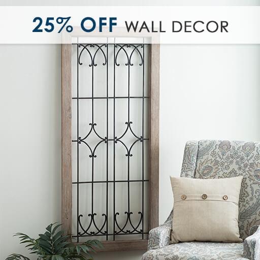 25% Off Wall Decor