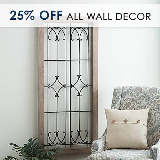 25% Off All Wall Decor