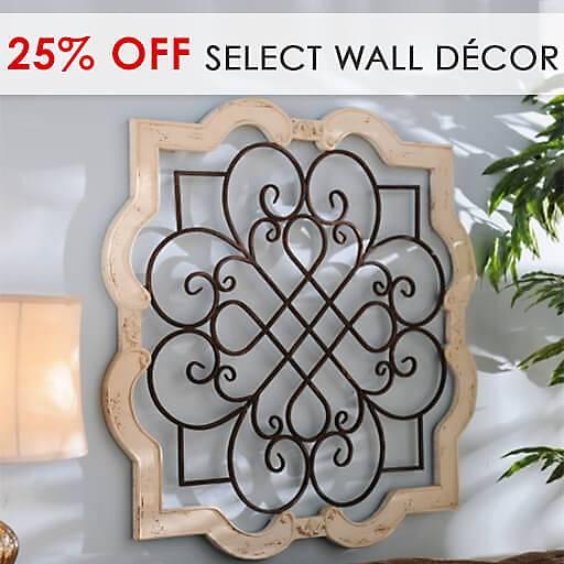25% Off Select Wall Decor