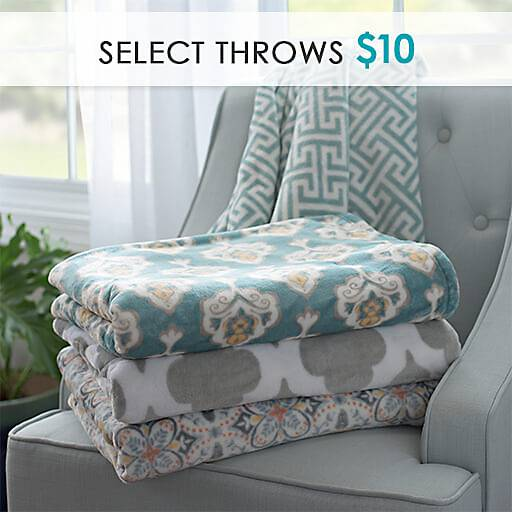 Select Throws $10