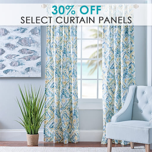 30% Off Select Curtain Panels