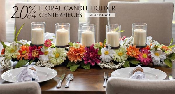 20% Off Centerpieces - Shop Now