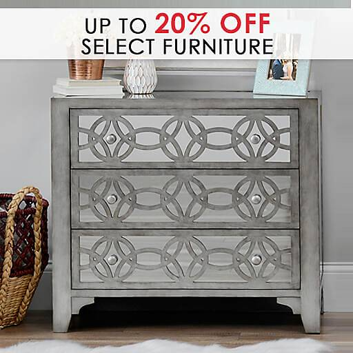 Up to 20% Off Select Furniture