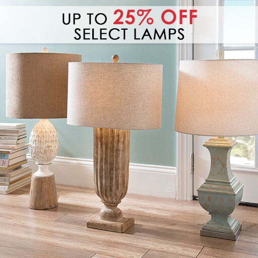 Up to 25% Off Select Lamps