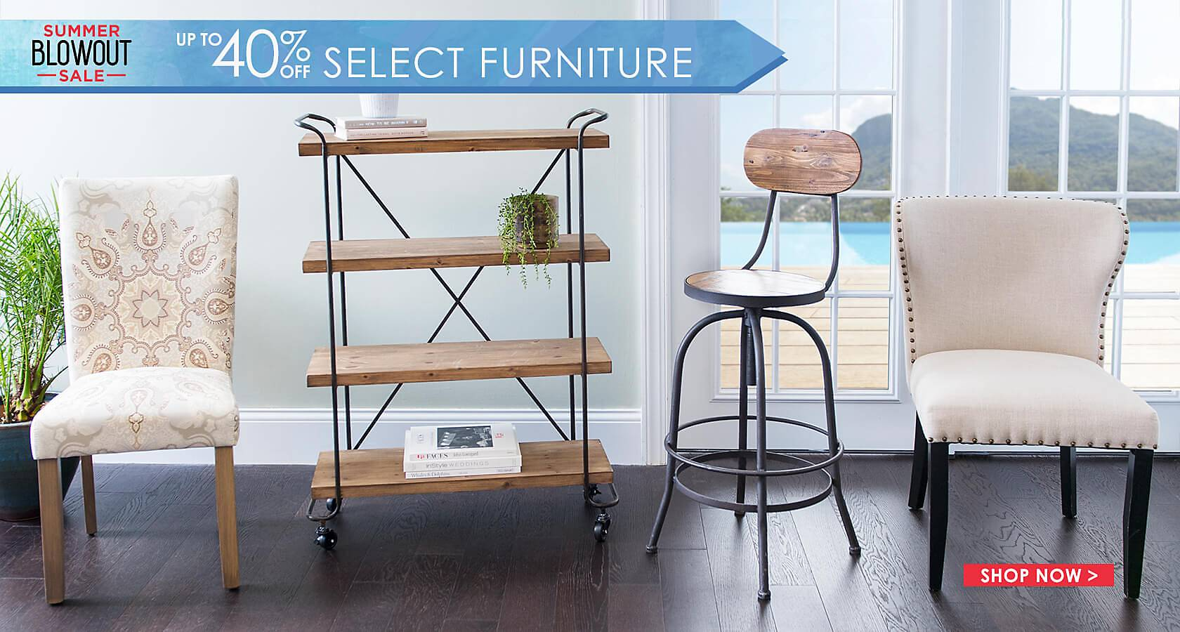 Furniture Blow Out - Up to 40% Off Select Styles - Shop Now