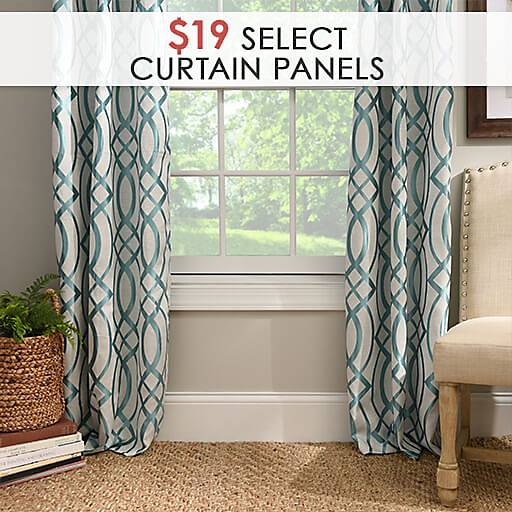 Select Curtain Panels $19