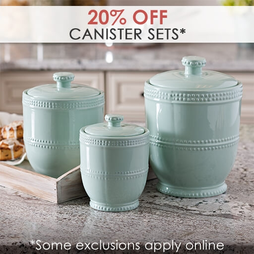 20% Off Canister Sets