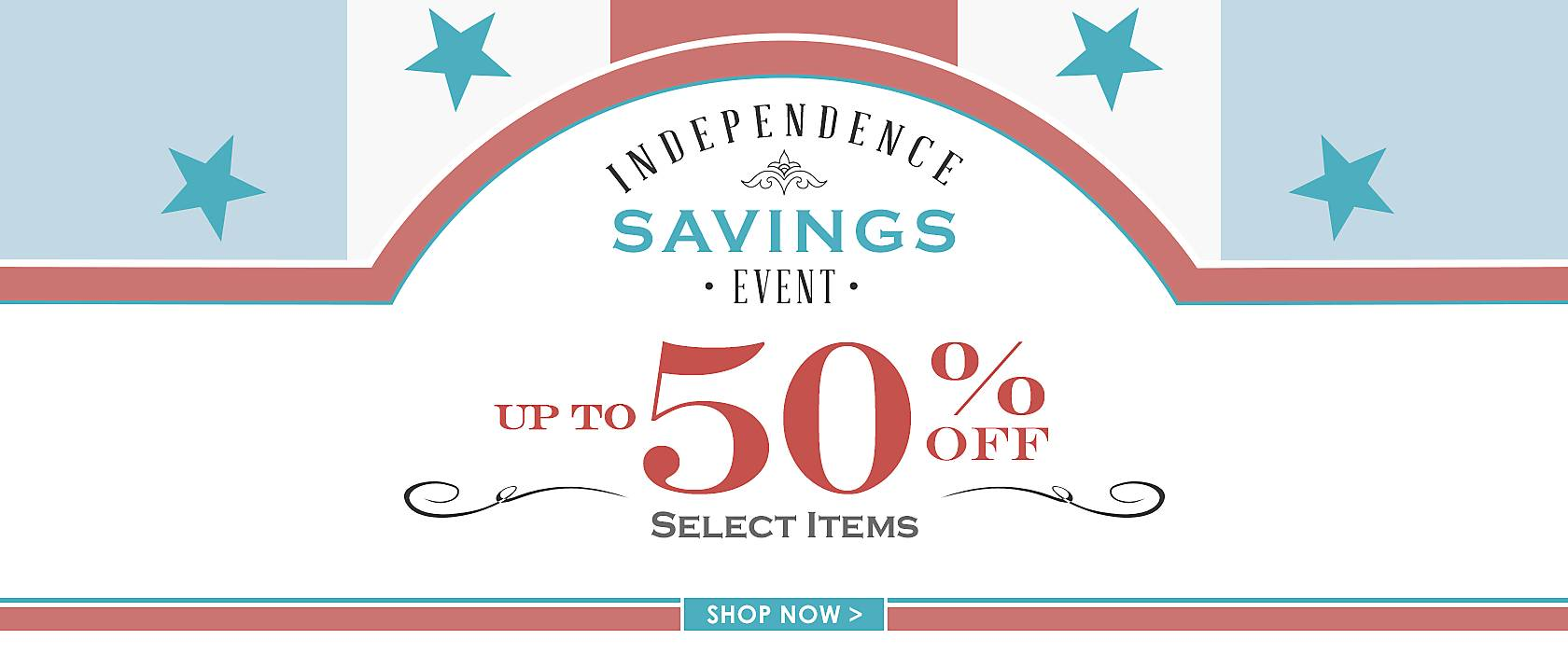 Up to 50% Off Select Items - Shop Now