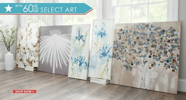 Up to 60% Off Select Art - Shop Now