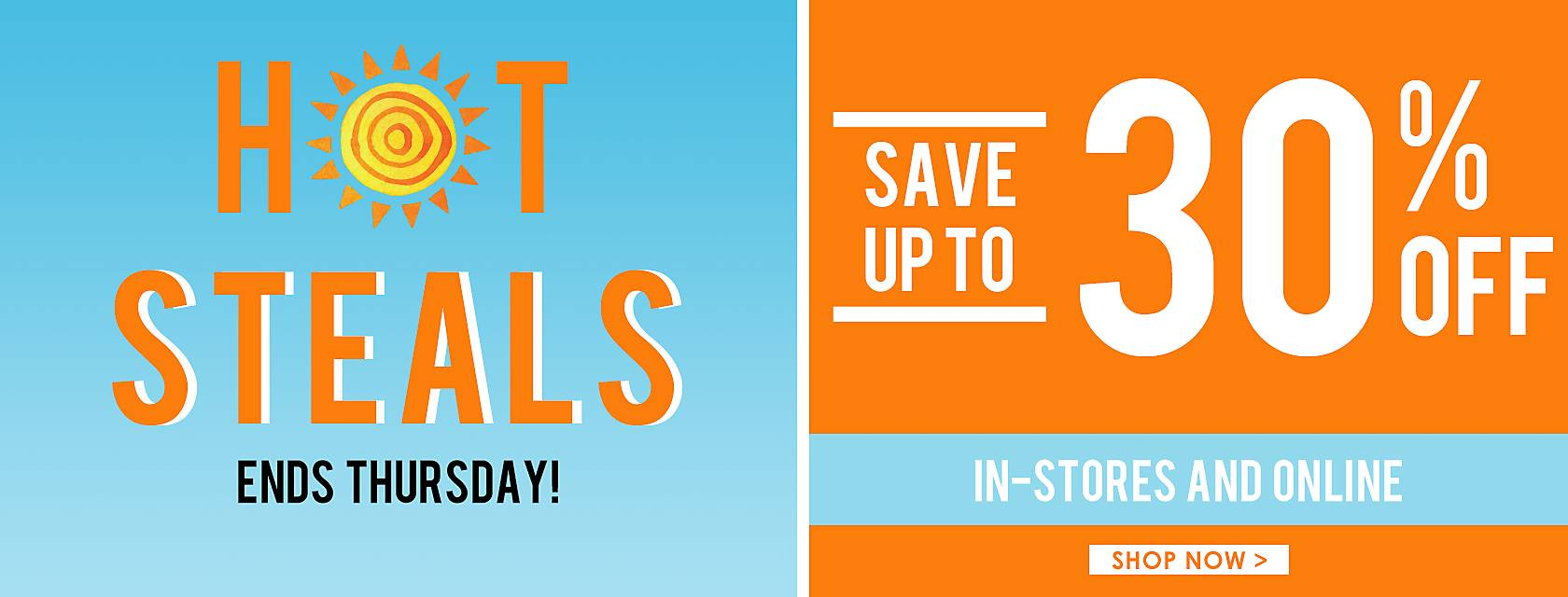 Ends Thursday!