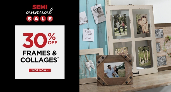 30% Off Frames & Collages - Some exclusions apply online - Shop Now