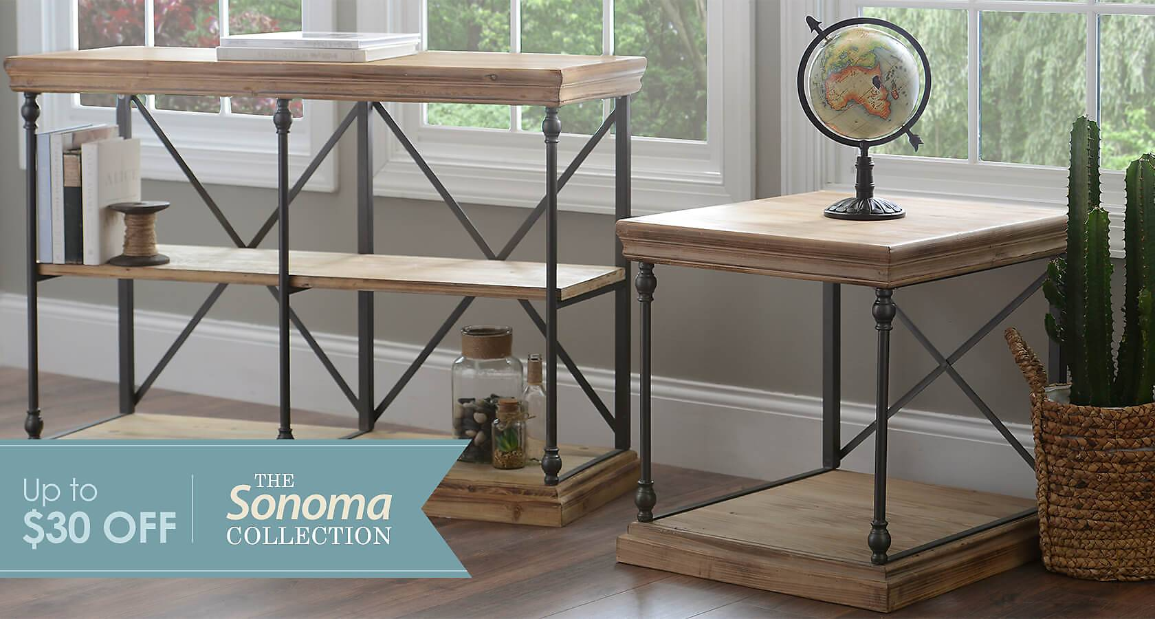 Sturdy and Stylish: The Sonoma Collection - Shop Now