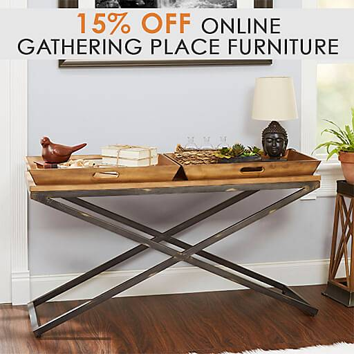 15% off Gathering Place Inspired Furniture
