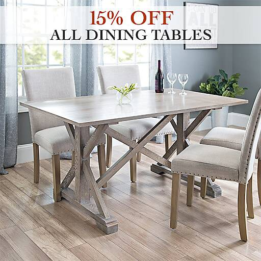 15% Off All Dining Tables
