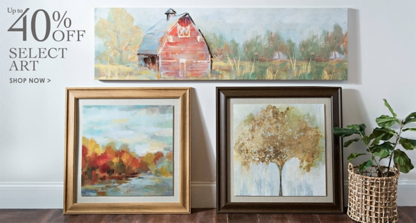 Up to 40% Off Select Art - Shop Now