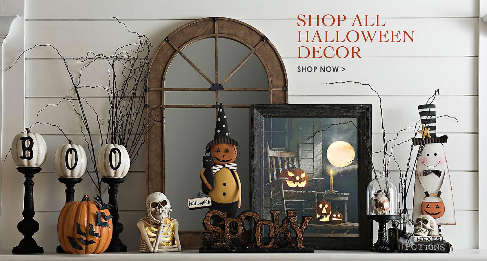 Shop all Halloween decor - Shop Now