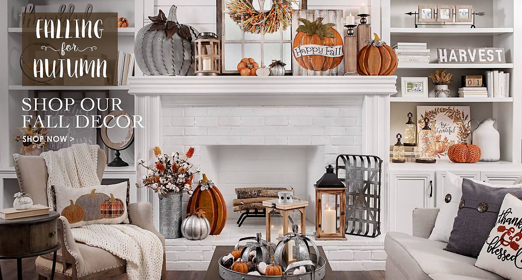 home decor wall decor furniture unique gifts kirklands falling for autumn shop our fall decor shop now
