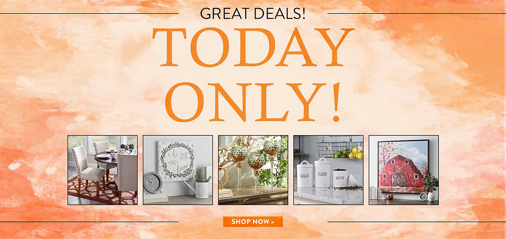 ONE DAY SALE! - GREAT Deals; LIMITED Time! - Shop Now