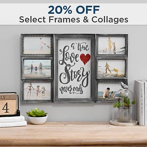 20% Off Select Frames & Collages