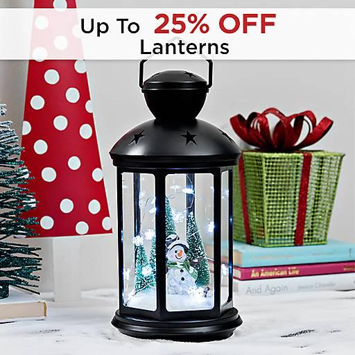 Up to 25% Off Lanterns