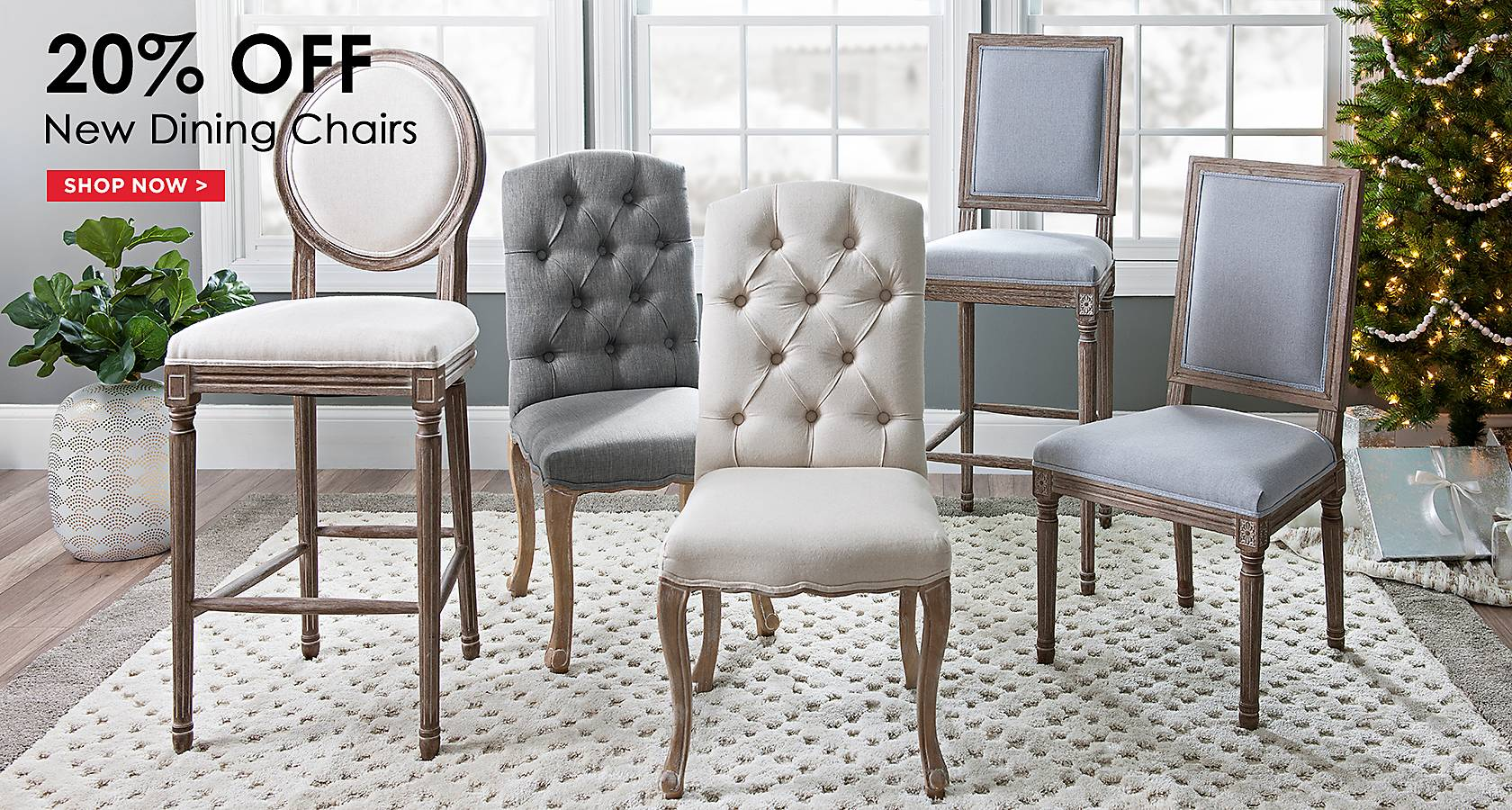 20% Off New Dining Chairs - Shop Now