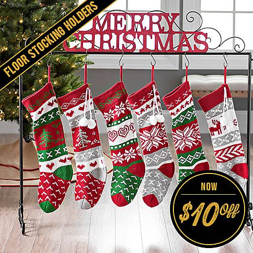 $10 Off Floor Stocking Holders