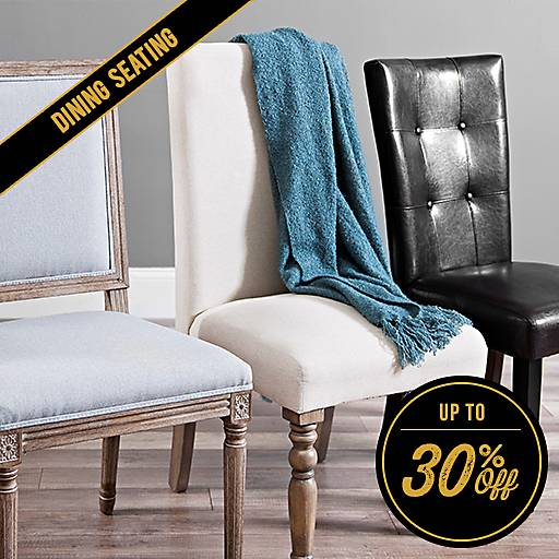 Up to 30% Off Dining Seating