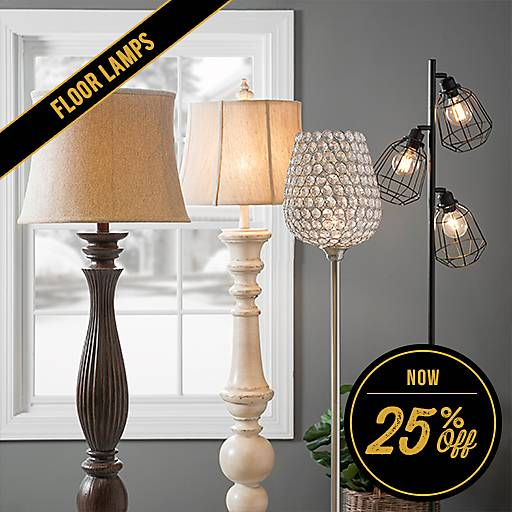 25% Off Floor Lamps
