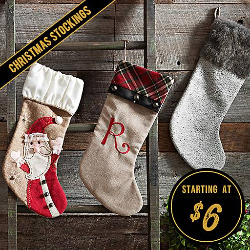 Christmas Stockings Starting at $6