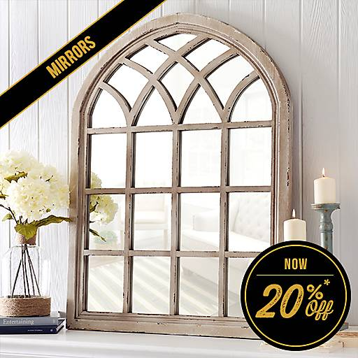 20% Off Mirrors - Some exclusions apply online