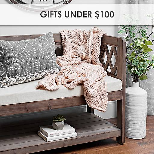 Gifts Under  100. Home Decor  Wall Decor  Furniture  Unique Gifts   Kirklands