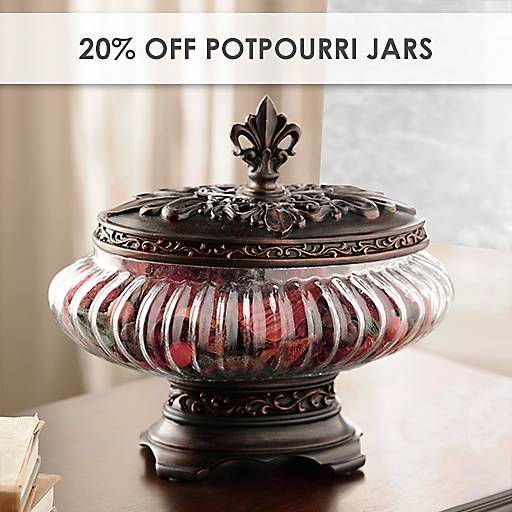 20% Off Potpourri Jars