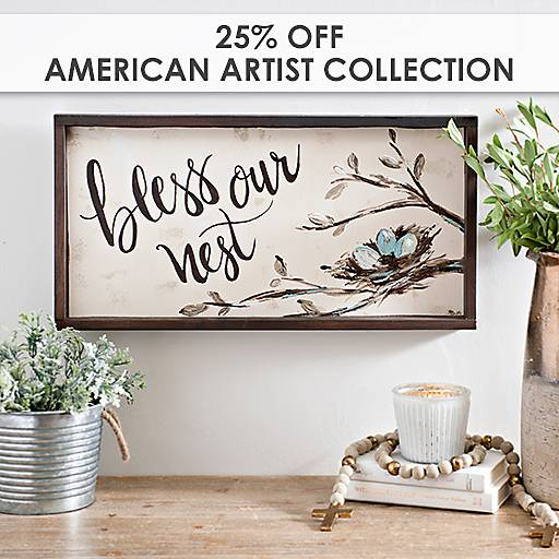 25% Off American Artist Collection