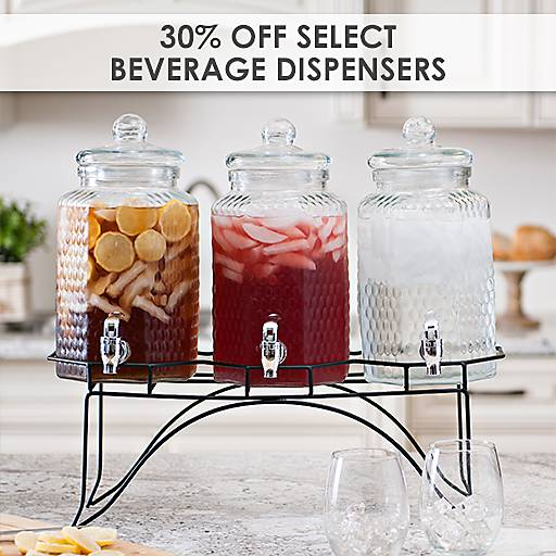 30% Off Select Beverage Dispensers