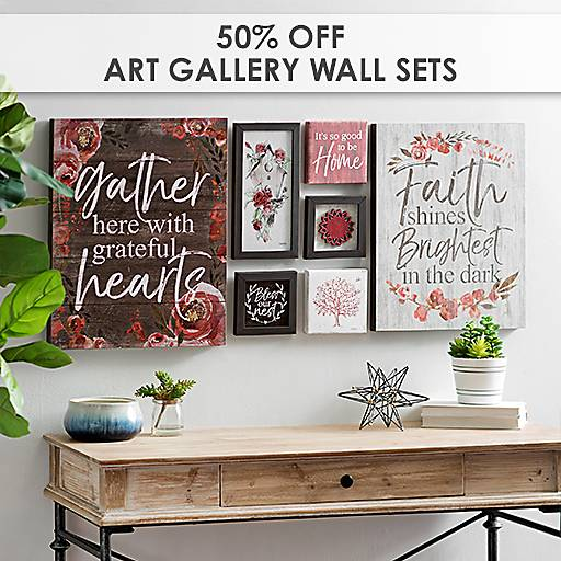 50% off Art Gallery Wall Sets