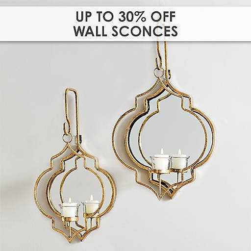Up to 30% Off Wall Sconces