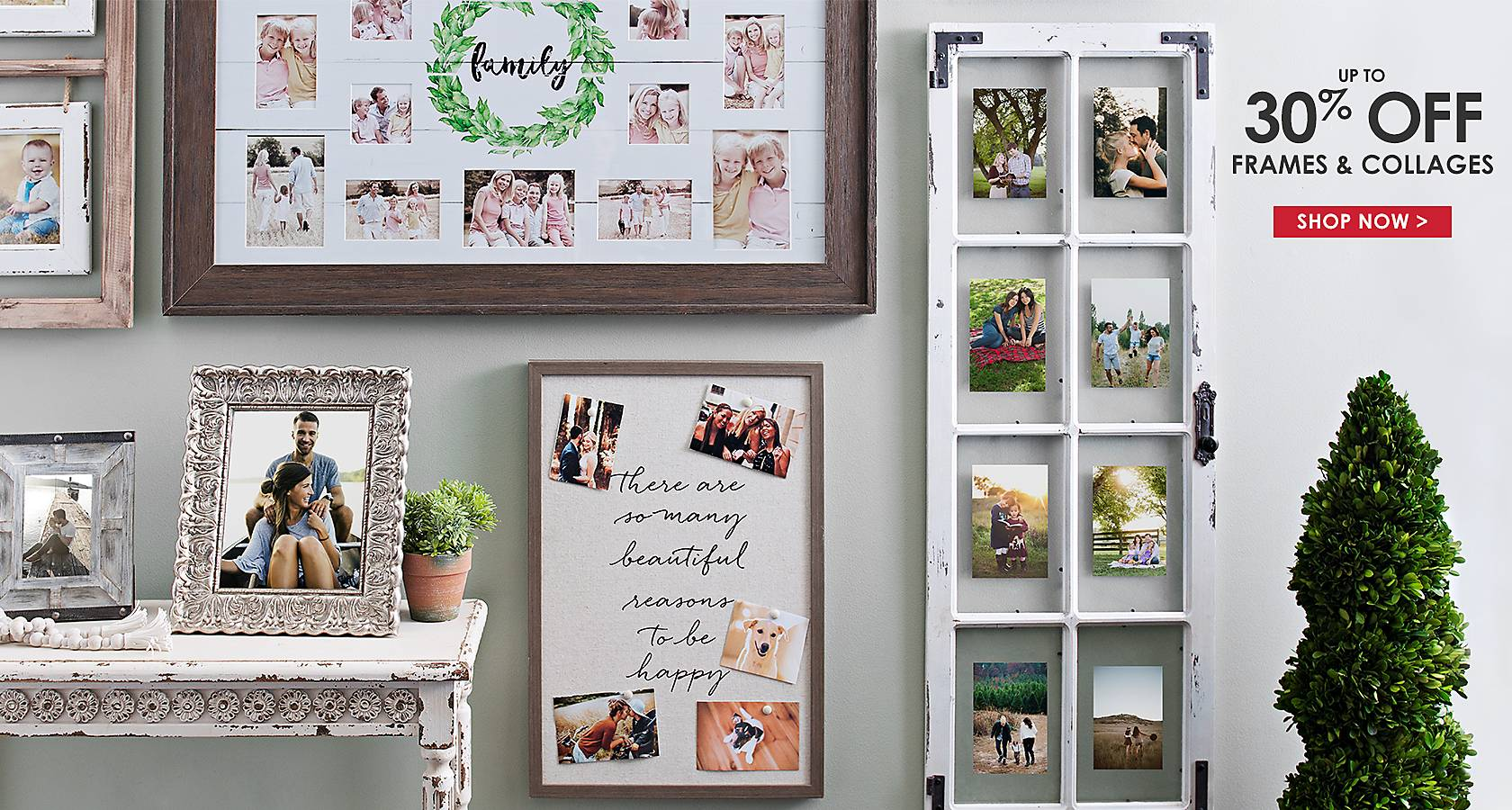 Up To 30% Off Frames U0026 Collages   Shop Now
