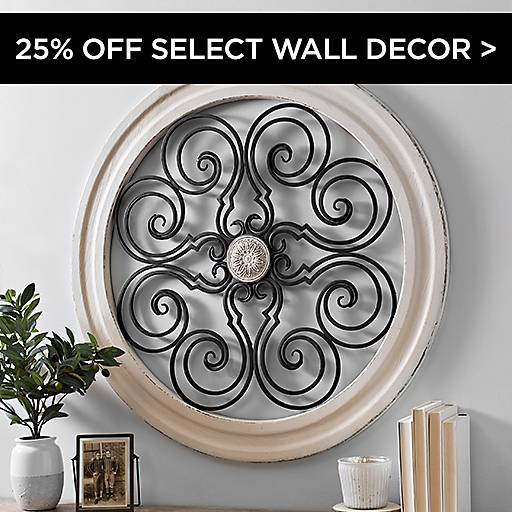 25% Off Select Wall Decor
