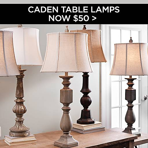 Caden Table Lamps Now $50
