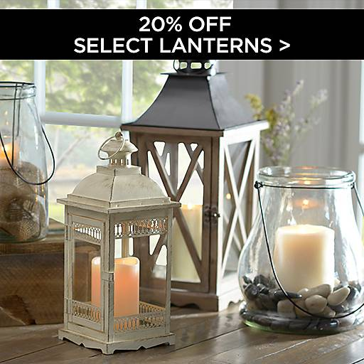 20% Off Select Lanterns
