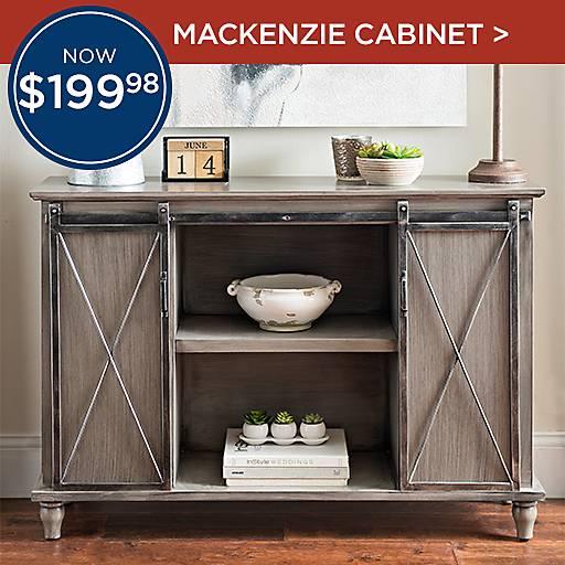 Cabinet McKenzie Now $199.98