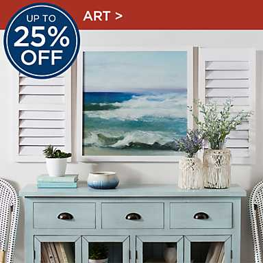 Up to 25% Off Art