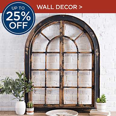 Up to 25% Off Wall Decor