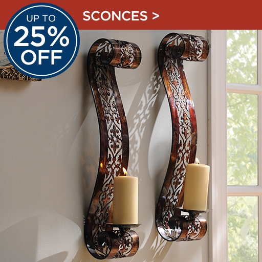 Up to 25% Off Sconces