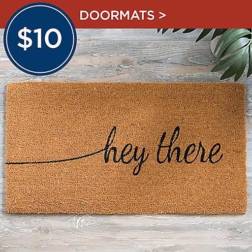 $10 Doormats